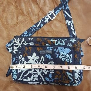 Vera Bradley Java floral crossbody/hipster purse